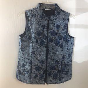 North Style winter vest blues  large(C2.7)